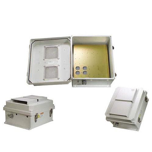 HW-N14-V - 14x12x7 Enclosure, MNT Plate, Vent