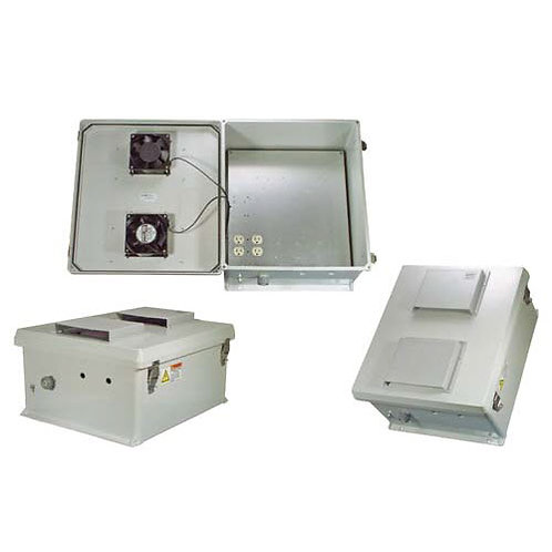 HW-N18-1FS - 18x16x8 Enclosure, 120Vac MNT Plate, Fans, SS Controller