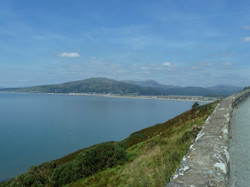 View over to Fairbourne