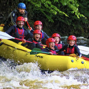 White water rafting bala
