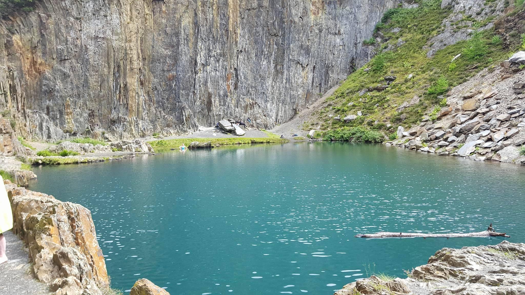 Blue Lakes, Friog