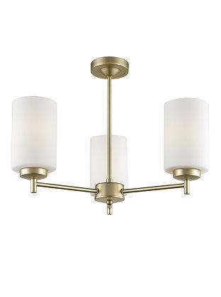 Decima 3 light Fitting (Up) - FL2388-3