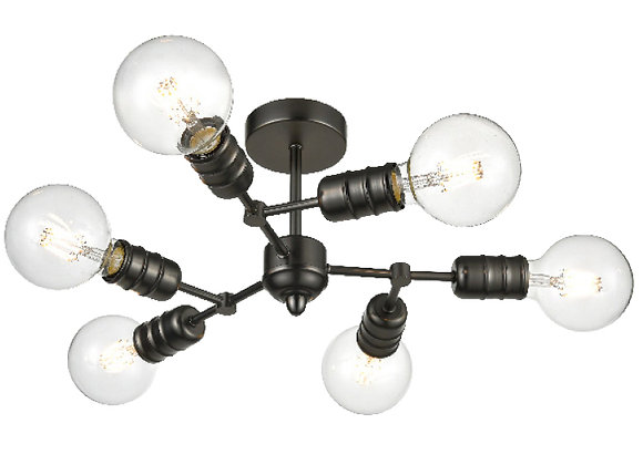 Impact 6 light Fitting  - FL2408-6