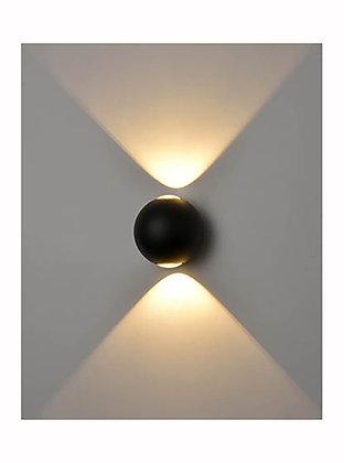 Aura Exterior 2lt LED Wall Light - EXT6628