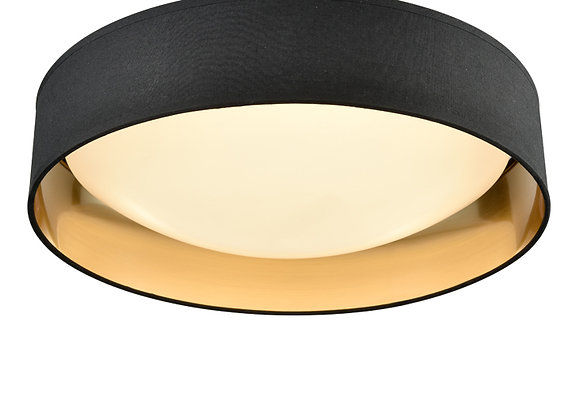 Acrylic Ceiling Fitting with Black/Gold Shade - CF5785