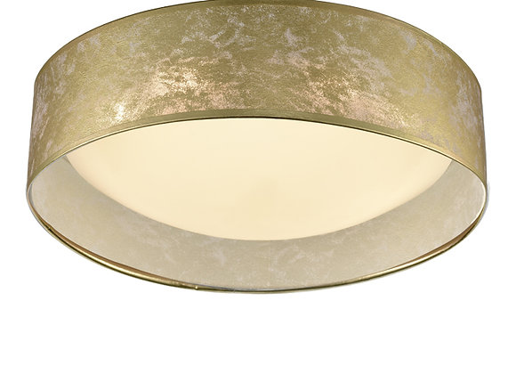 Acrylic Ceiling Fitting with Gold Shade - CF5787