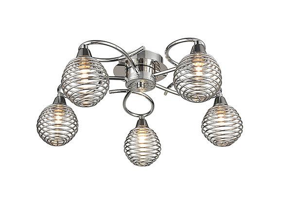Bounce 5 light Fitting  - FL2433-5