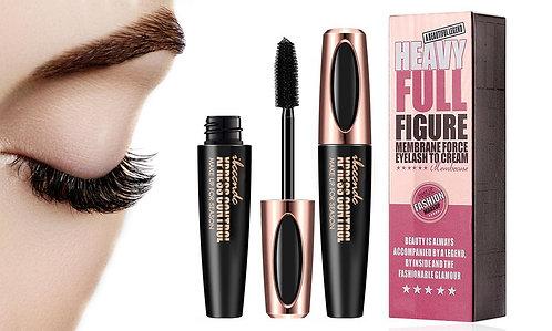 4D Silk Fiber Eyelash Mascara Extension Makeup Black Waterproof
