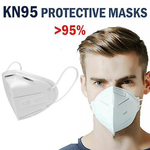 KN95 95% Filtration, Respiratory Protection, 3D dimensional structure design
