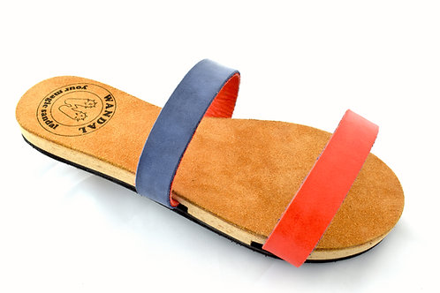 Wandal Sandal red and blue - simply version