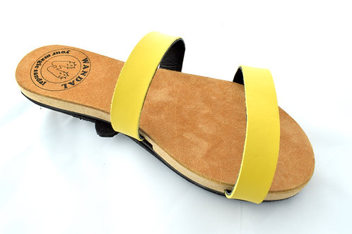 Wandal Sandale yellow - simply version