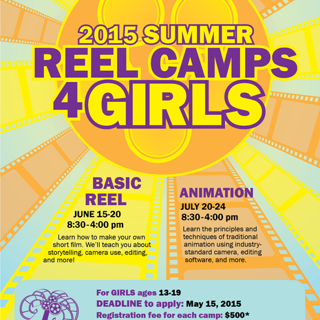 2015 Summer Reel Camps for Girls registration now OPEN!