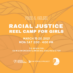 racial justice reel camp for girls all l