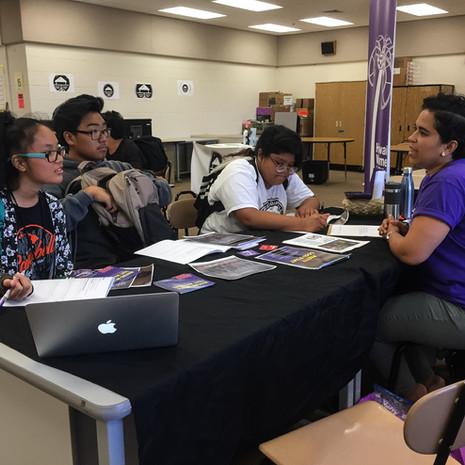 HWF outreach at Campbell Kapolei Student Career Expo 2018!