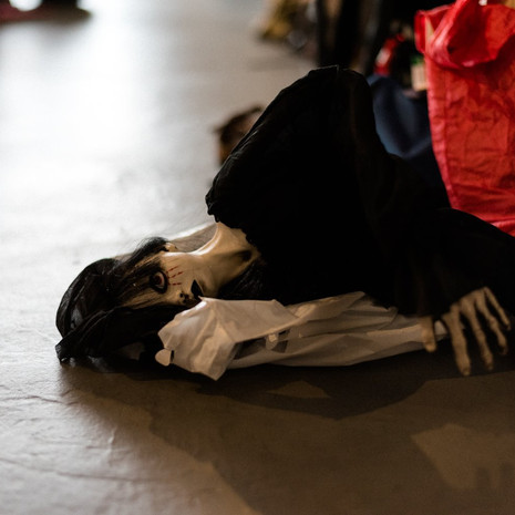 Cannibals, clones, ghosts take over HWF for 'Spooky' night