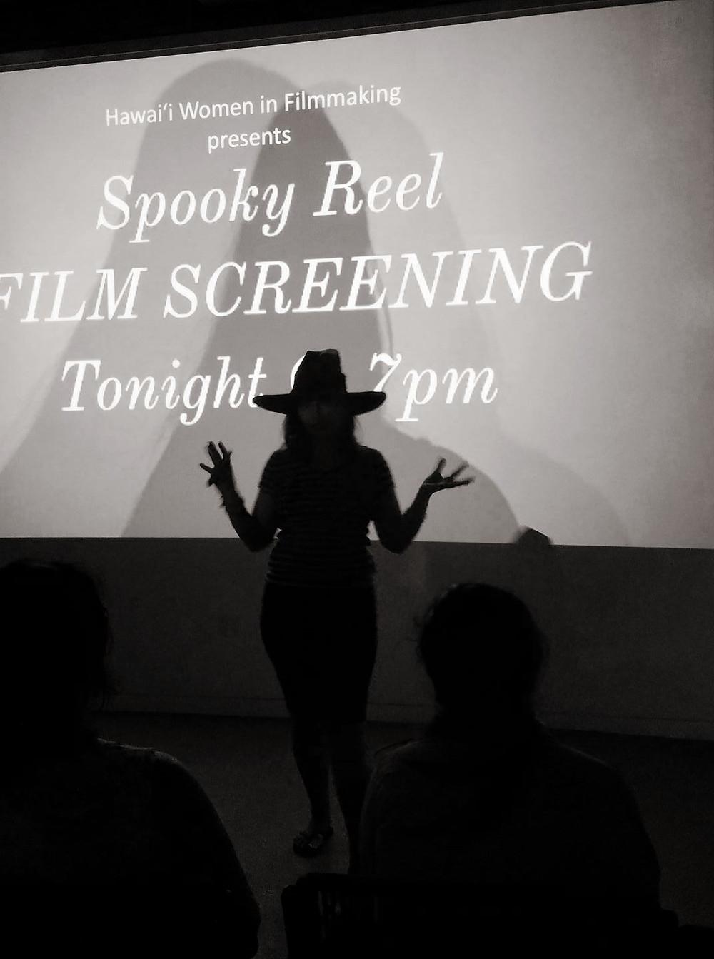 Spooky reel camp