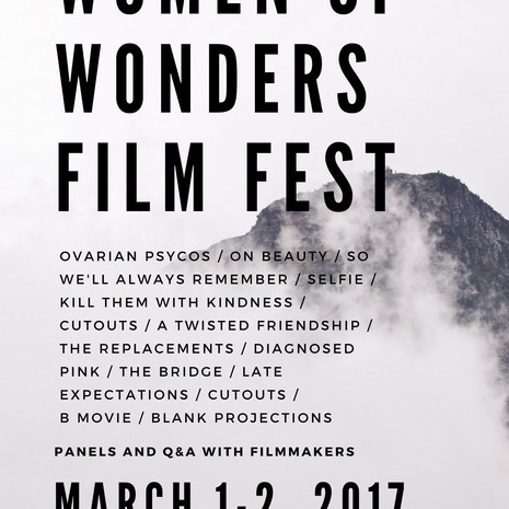 2017 Women of Wonders Film Fest