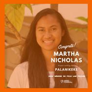 Martha Nicholas