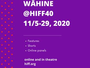 Wāhine @HIFF40 program