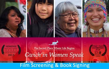 Gwich'in Women Speak film screening & book signing
