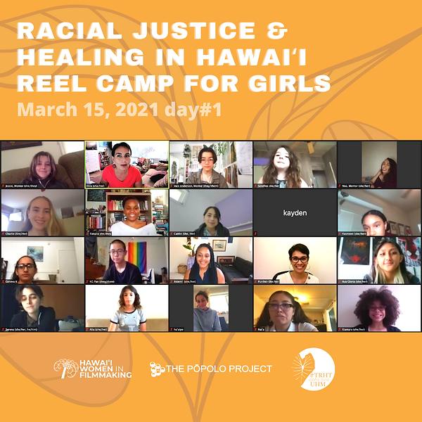 Copy of racial justice reel camp for gir