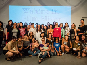 Wahine in film mixer shows power in numbers