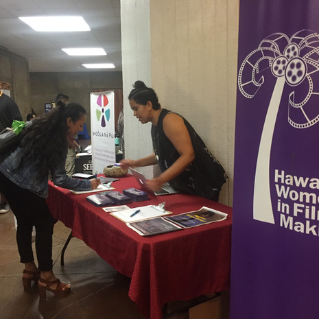 Hawaiʻi Women in Filmmaking at the 2018 Hawaiʻi Children & Youth Summit