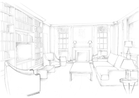London, Sitting Room