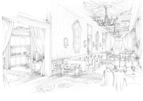 Regent Hotel, Restaurant