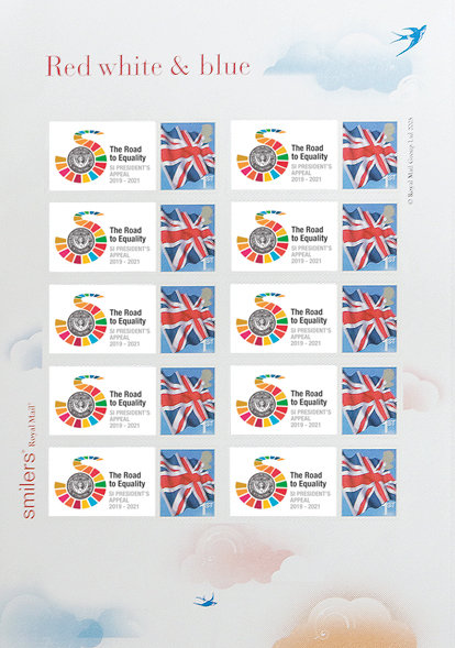 Mini Sheet of 10 Stamps - The World