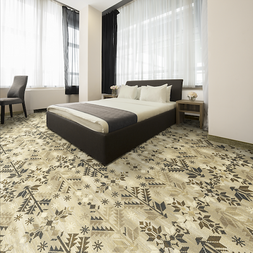 Welspun Printed Wall to Wall Carpet