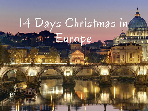14 Days Christmas in Europe