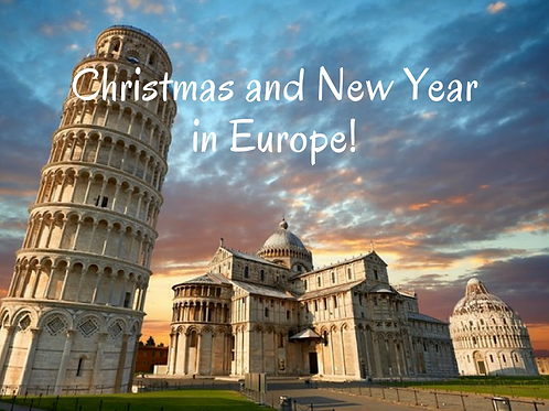 14 Days Christmas & New Year in Europe