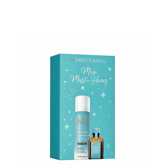 Mini Moroccan oil and Dry Shampoo set