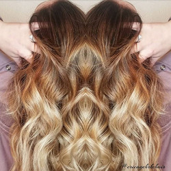 Check out this root-y balayage by our st