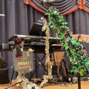 クリスマスショー「ジャッキーのクリスマス」バンドセッティング!