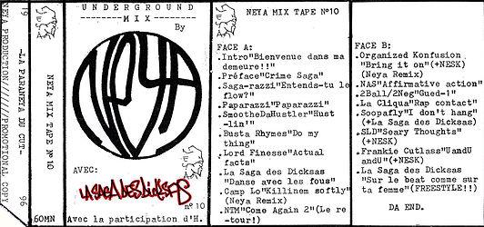 Neya Mix Tape n°10