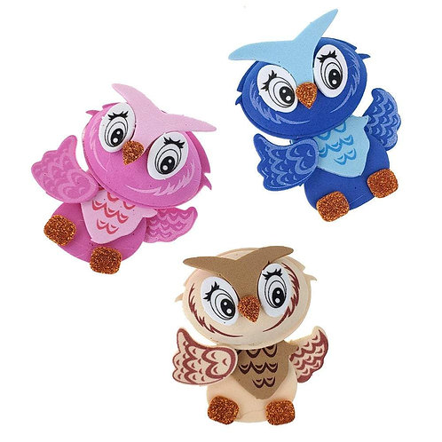 Owl Crafts-3D Owl Cut Outs Baby Shower