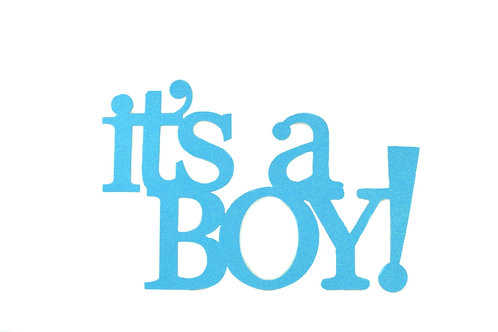 Baby Shower Banner-Large It's A Boy Wall Banner. XL