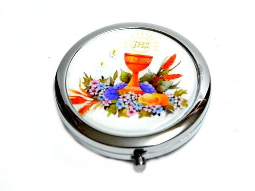 Mirror Compacts Gifts-Communion Favors-Caliz Holy Cup Design