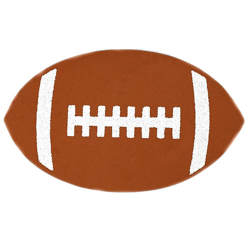 Sports Themed Party Favors Football Glittered Cutouts