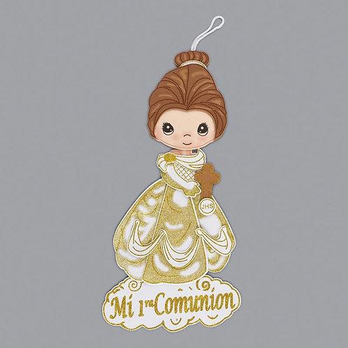 First Communion Banner Girl Foam Cutouts-XL
