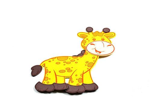 Baby Shower Banner-Giraffe Foam-Safari Theme-Party Banner