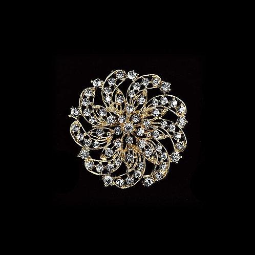 Rhinestone Brooches Crystal Rhinestone Brooches For Crafts