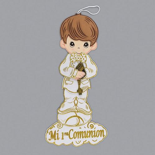 First Communion Banner Foam Cutouts Boy-XL