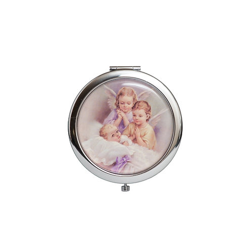 Mirror Compact Gifts-Baptism Favors-Baby Angel