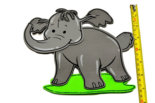 Baby Shower Banner-Elephant Foam-Safari Theme-Party Banner.