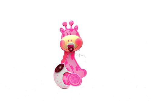 Pink Baby Shower Party Favors Giraffe Foam Cutouts