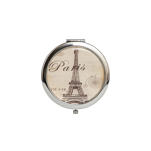 Mirror Compact Gifts-Wedding Gifts-Birthday Gifts-Eiffel Tower Design.