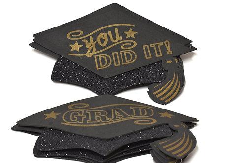 Party Graduation Hats Medium Foam Graduation Cap Favors